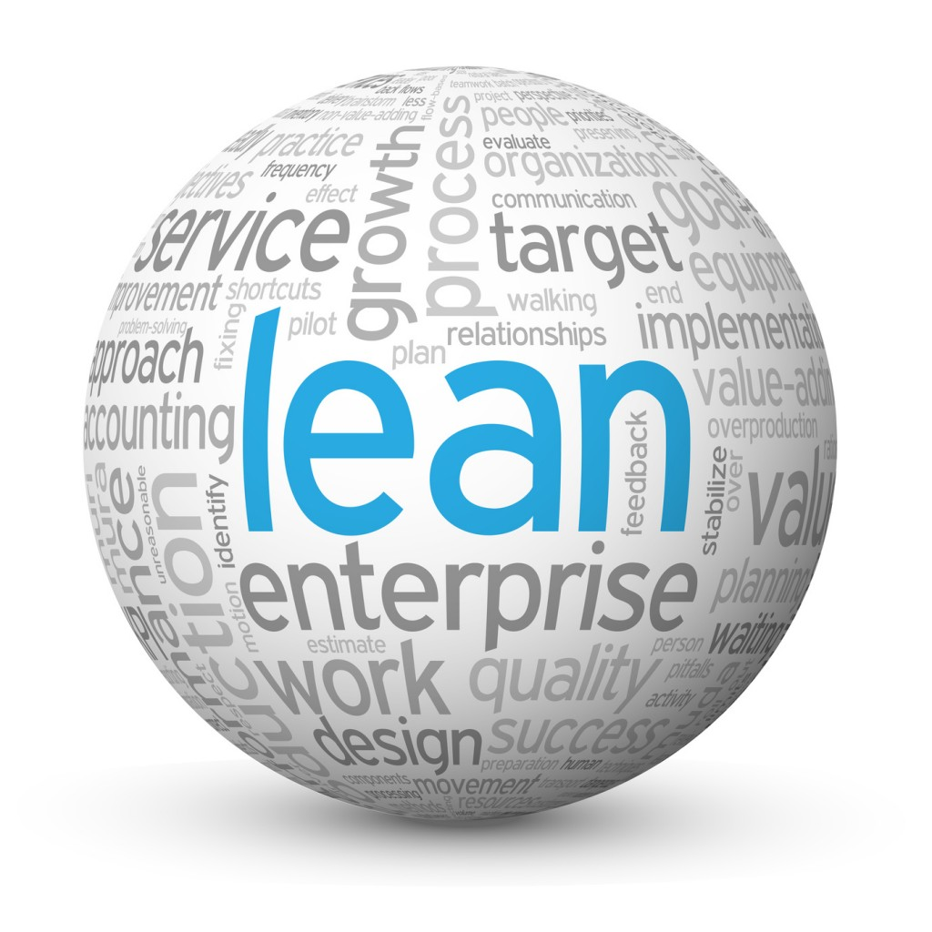 """LEAN"" (quality process improvement efficiency)"